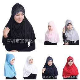 Compra Online Mejores bufandas de moda-Moda Musulmana De Hielo De Hielo Trae El Taladro Hijab Bufanda HS108 EBAY Amazon AMAZON Los Más Vendidos