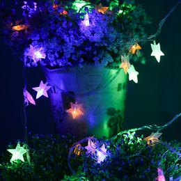 Promotion des vacances mini-lumières Fantaisie Fantaisie Fleurs de vacances LED 3m Multi-color LED String Mini feux Rideau d'éclairage de vacances