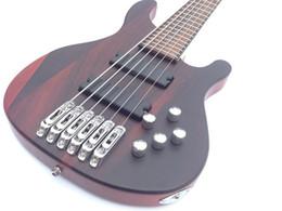 Guitare par en Ligne-Grossiste - à travers le cou actif 6 cordes guitare basse guitare basse