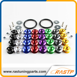 Wholesale RASTP Password JDM Quick Release Fasteners for Front Bumpers or Rear Bumpers or Trunk Hatch Lids RS QRF001