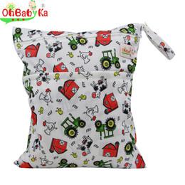 Acheter en ligne Bébé tissu réutilisable couche nappy-Vente en gros-OhBabyKa sacs à couches bébé sacs à couches réutilisables sacs à couches double sac à bandoulière sacs à eau sac à dos bébé imperméable