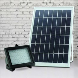 Waterproof LED Floodlight Landscape Flood Lights Wall Wash Light 10W Outdoor White Solar Led Flood Lights 108 Leds Garden Projecting Light