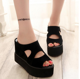 platform sandals wedges women sandal flats summer slippers