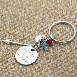 12pcs lot Brave Inspired keyring Merida Our fate lives within us Silver tone crystals women or girls key chain