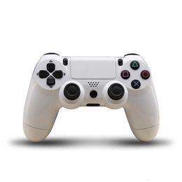 Joystick usb en Línea-Controladores PS4 USB con cable Controlador de juego Controladores de juego de joystick con analógico Sticks 2 metros Cable USB para PC portátil PlayStation 4