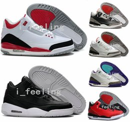 Wholesale New Air Retro Basketball Shoes Replicas Buy Aires Fashion Mens Retro s III Top Quality Training Sports Outdoor Sneakers Size