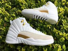 Wholesale Jordan Air Retro XII OVO White Basketball Shoes quot brand New quot Jordans XII Retro GG Man Size Y Y with box