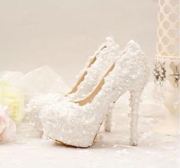 Chaussures habillées pour les femmes prix à vendre-Hot Sales Femmes Talons hauts Chaussures Printemps et Automne White Wedding Dress Chaussures Taille 35-39 Haute Qualité Femmes Chaussures Prix bas Livraison gratuite