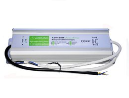 Top quality 150W waterproof LED power supply led driver Lighting Transformers outdoor use Output DC12V 24V 36V input AC 90V~130V 170V~250V