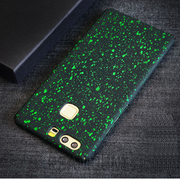 Wholesale Bling Star Phone Case for HUAWEI P9 P9 PLUS Hard Plastic Phone Cover For HUAWEI Mate9 Protect Cell Phone Case