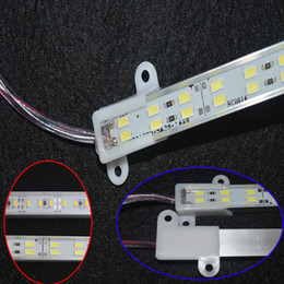 Wholesale 5630 Led Strip Bar Light Aluminium Alloy Shell Waterproof Led Light M M Warm White Cool White strip light with Double Row