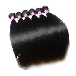 Cheap Brazilian Hair, Straight Hair, 6 pieces lot, 12-30 inches in Stock Brazilian Remy Straight Hair Extensions, 100% Human Hair Weft