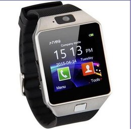 Wholesale Hotest DZ09 Smart Watch Wrisbrand Android IOS Smart watch SIM Intelligent mobile phone watch can record the sleep state Smart iwatch