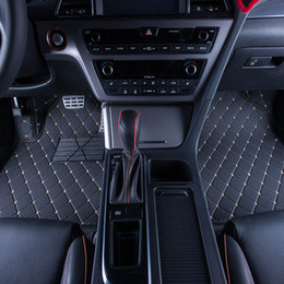 High quality car floor mat leather material car carpet mat waterproof car mat for automotive interior parts