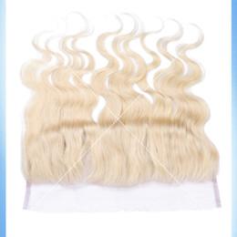 Descuento frontales del cordón de la onda del cuerpo brasileño Frontal brasileño 613 del cordón de los cordones del cordón del pelo de la onda del cordón Frontal virginal de Remy de la Virgen del pelo brasileño ondulado 13x4