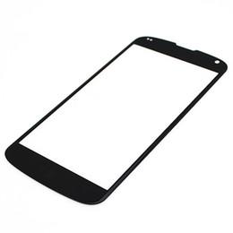 2017 écran tactile google 100Pcs Superbe qualité avant Outer écran tactile de verre remplacement de lentille pour Google Nexus 4 5 5x Livraison gratuite via DHL abordable écran tactile google