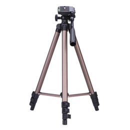 Wholesale Weifeng WT3130 Protable Lightweight Aluminum Camera Tripod with Rocker Arm Carry Bag for Canon Nikon Sony DSLR Camera DV Camcorder D1651