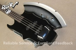 Wholesale Custom Rare Strings Gene Simmons GS AXE Bass Signature Electric Gitar Bass In stock For Sale