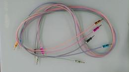 Armadura usada en Línea-Nuevo 2017 1.5M Cable de tejido de cable de audio se puede utilizar para conexión de cable de auriculares rápida y fácil