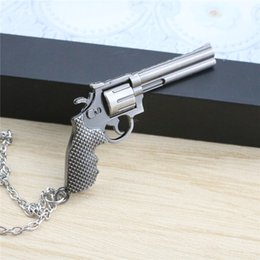 9 Designs Hot Sale CF Men Alloy Simulated Gun Necklace Cross Fire Necklaces & Pendants For Gift