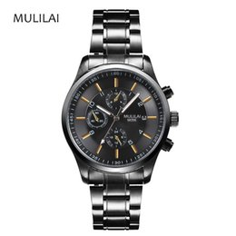 Top Brand MLL Men's Watch Army Top Brand Luxury Sports Casual Waterproof Men's Watch Quartz Stainless Steel Men's Watch