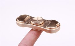 Wholesale Hand Spinner Decompression Fidget Toys Made of Fine Copper Metal Fidget Finger Rotation Minutes Easy To Carry