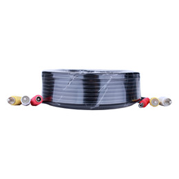 150FT 50M BNC Power Video Plug And Play Cable For CCTV Camera DVR