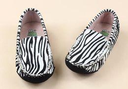 Wholesale Zebra Triple White Highest Version Kids Casual Shoes Jeff Store