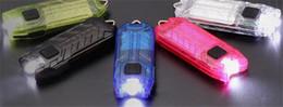 Wholesale Nitecore T Series Tube LM Modes Mini USB LED Keychain Flashlight Rechargeable Key Chain Keyring Light Lamp Torch