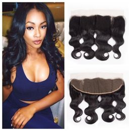 Brazilian Lace Frontal Closures Body wave 13x4 Free Middle Three Way Part Full Lace Frontal 100% Unprocessed Virgin Human Hair Closure