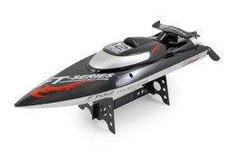 Eaux froides à vendre-Vente en gros- F15278 FT012 (FT009 Mise à niveau Professional Speedboat 2.4G Brushless Water Cooling HIGH SPEED RC Remote Radio Control Bateau de course