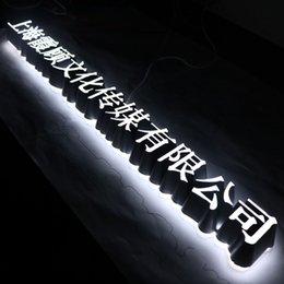 Plexiglás iluminadas en Línea-Diseño de encargo llevó la muestra de la letra del plexiglás de la iluminación para la tienda de la pizza
