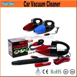 Wholesale Car Automotive Electronics W Super Suction Mini V High Power Wet and Dry Portable Handheld Car Vacuum Cleaner Wash Red Color
