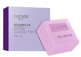 Wholesale CUCNZN Skin whitening face clean soap lavender matha propolis soap essence moisturizing New DHL