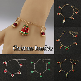 Wholesale Perfect Christmas gift New Supplies Charm Bracelets Fashion Jewelry For Women Bracelet Bangle Mix Styles