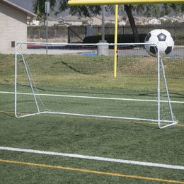 Wholesale 12 x Feet Soccer Goal Football With Net Straps Anchor Ball Outdoor Training All Sets