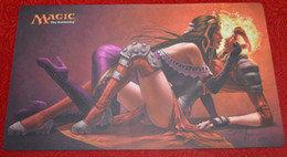 Wholesale Chandra Kissing Liliana Magical the Gathering Playmat The MTG Card Game mat board game table pad mouse pad magic tool
