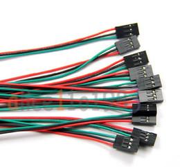 Wholesale Pcs70cm Pin Cable set Female Female Jumper Wire for Arduino D Printer Reprap