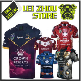 Top quality Melbourne Storm Rugby United States 2017 Marvel Thor Jersey Rugby Jersey 17 18 Melbourne Premium Quality S-3XL