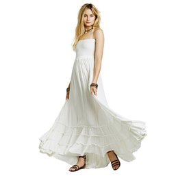 Oversize White Casual Maxi Summer Dresses Women Dress Chiffon Long Vestidos Mujer Beach Dress Party Moda Praia Ladies 2017 New 50F0079