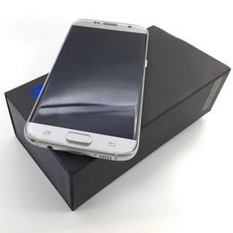 Acheter en ligne Pouces 1gb-Hot Sale Goophon S7 Edge Curved HD Screen 1: 1 Clone 1 Go + 8 Go Android 6.0 64 bits Quad Core MTK6580 5.5 pouces Smartphone DHL gratuitement