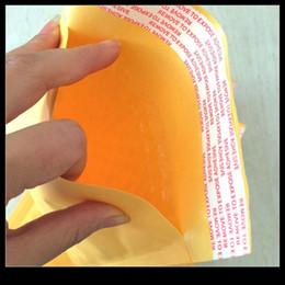 Burbuja de papel kraft en Línea-Bolsos de papel universales Pequeños Kraft Bufanda Envoltorio Sobres Envueltos Bufandas Auto Sellado Envío Paquete Paquete caja 200pcs