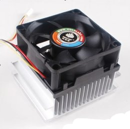 Wholesale Cooling Fan PC Heatsink CPU Cooler CPU Fan Fans and Coolings New Good Quality Freeship Hot sale