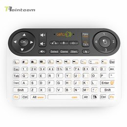 Wholesale F6 Wireless Gaming Keyboard Air Mouse for Android TV Box PC PPT Remote Control Game City Mini Bluetooth keyboard mouse touchpad