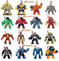 300pcs lot big building block figures Children Bricks Collect Toys ghg