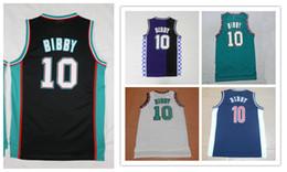 Promotion maillots de sport # 10 Mike Bibby Mens Jerseys de qualité supérieure S-XXL hommes Sport Jersey