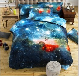 Europe and the United States home textile Blanket quilt cover bedding nebula star 4 hot style 3 d
