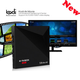 Wholesale 2017 New Best R TV BOX MiNI Android OTT TV BOX RK3229 Media Player KODI smart mini PC R BOX VS MXQ PRO