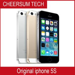 Free DHL Apple iphone 5S Mobile phone LTE Dual core 4.0 inches 1G RAM 16GB 32GB 64GB ROM 8MP IOS low price phone