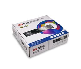 Wholesale Digital ATSC TV Box tv receiver ATSC M3 for Canada Mexico USA south korea Air Channels p HDMI Video Output